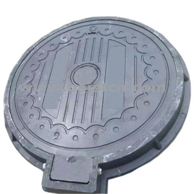 SMC Sewer Cover 700mm With Hinge Pass Loa