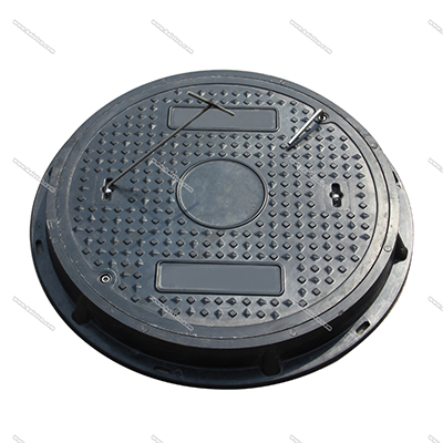 Fiber Glass Manhole Cover Round Type 600mm B125 Load Rating