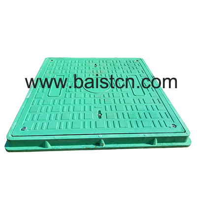 Green Color SMC Manhole Cover 700x700mm A